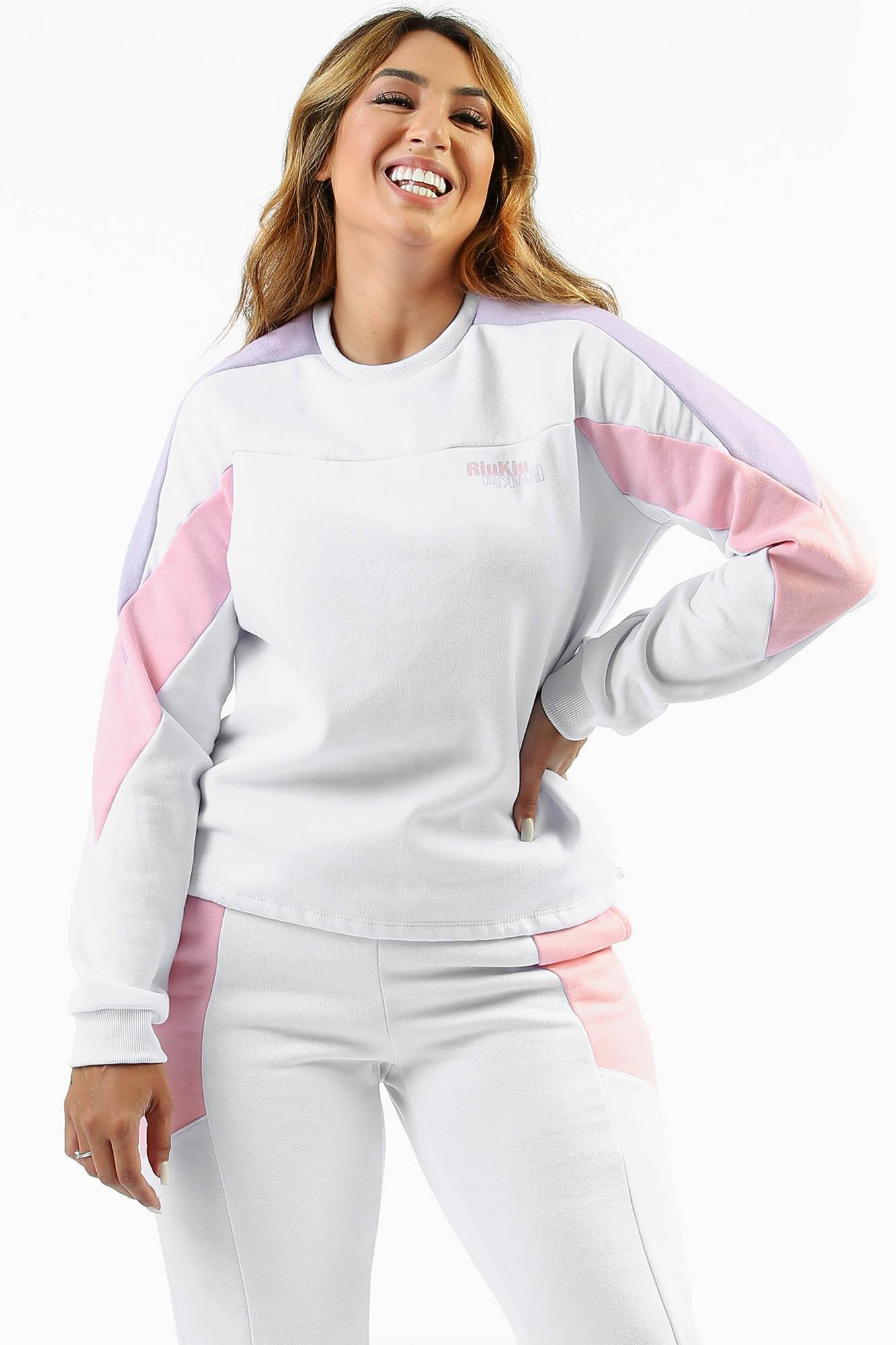 Blusa Moletom com Regulador Strong Branco