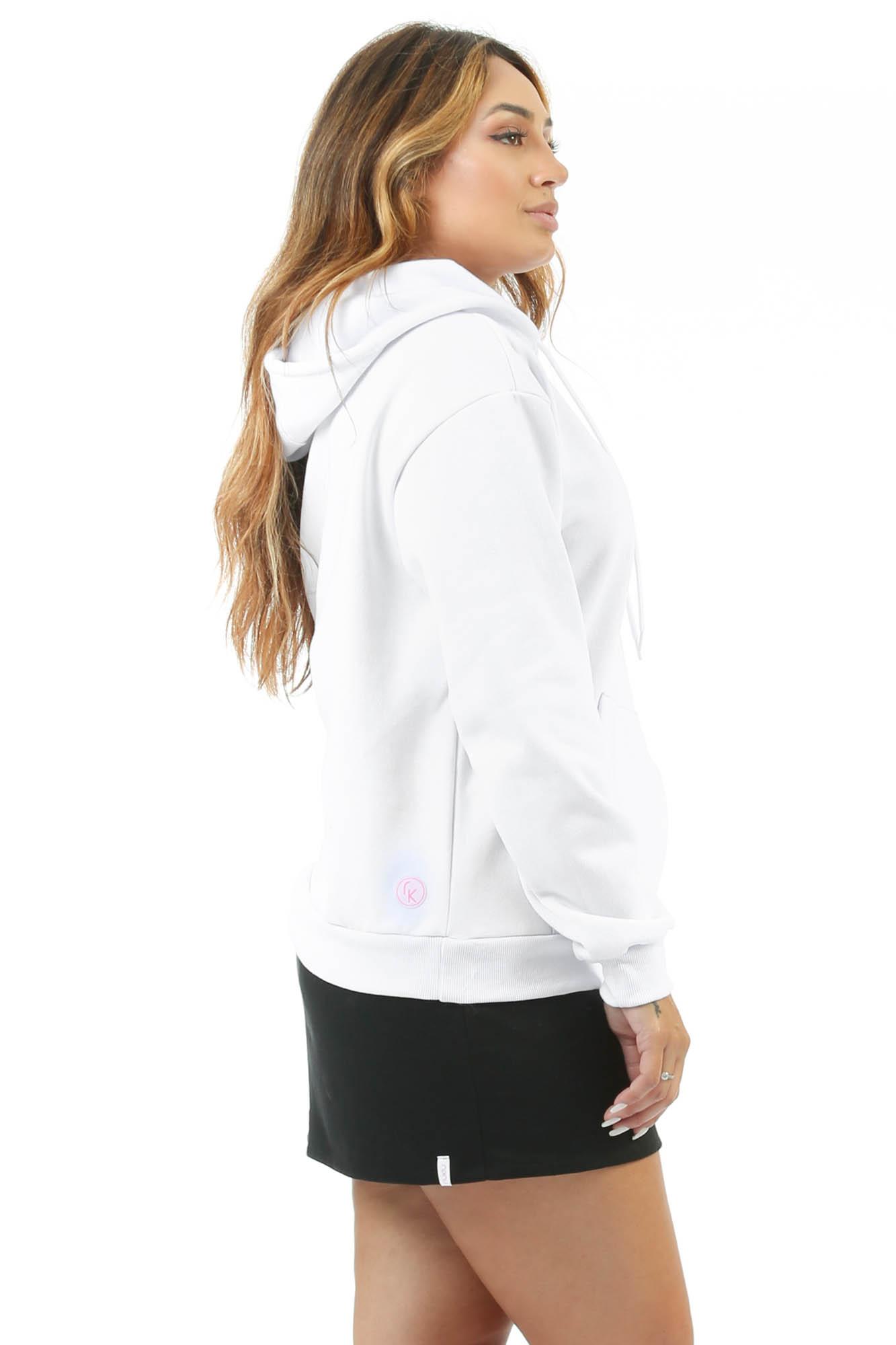 Blusão de Moletom 92K Branco
