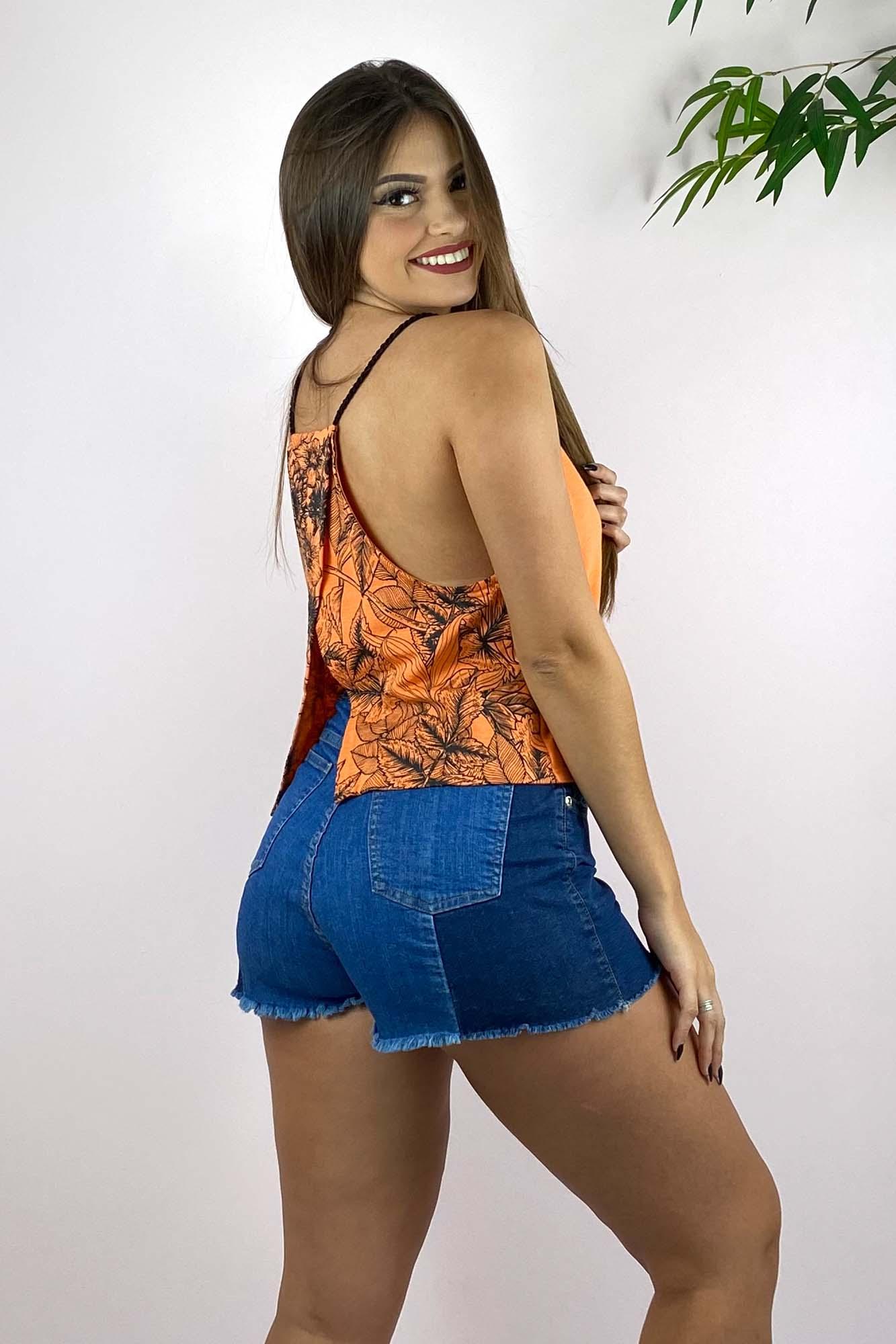 Blusinha Flores