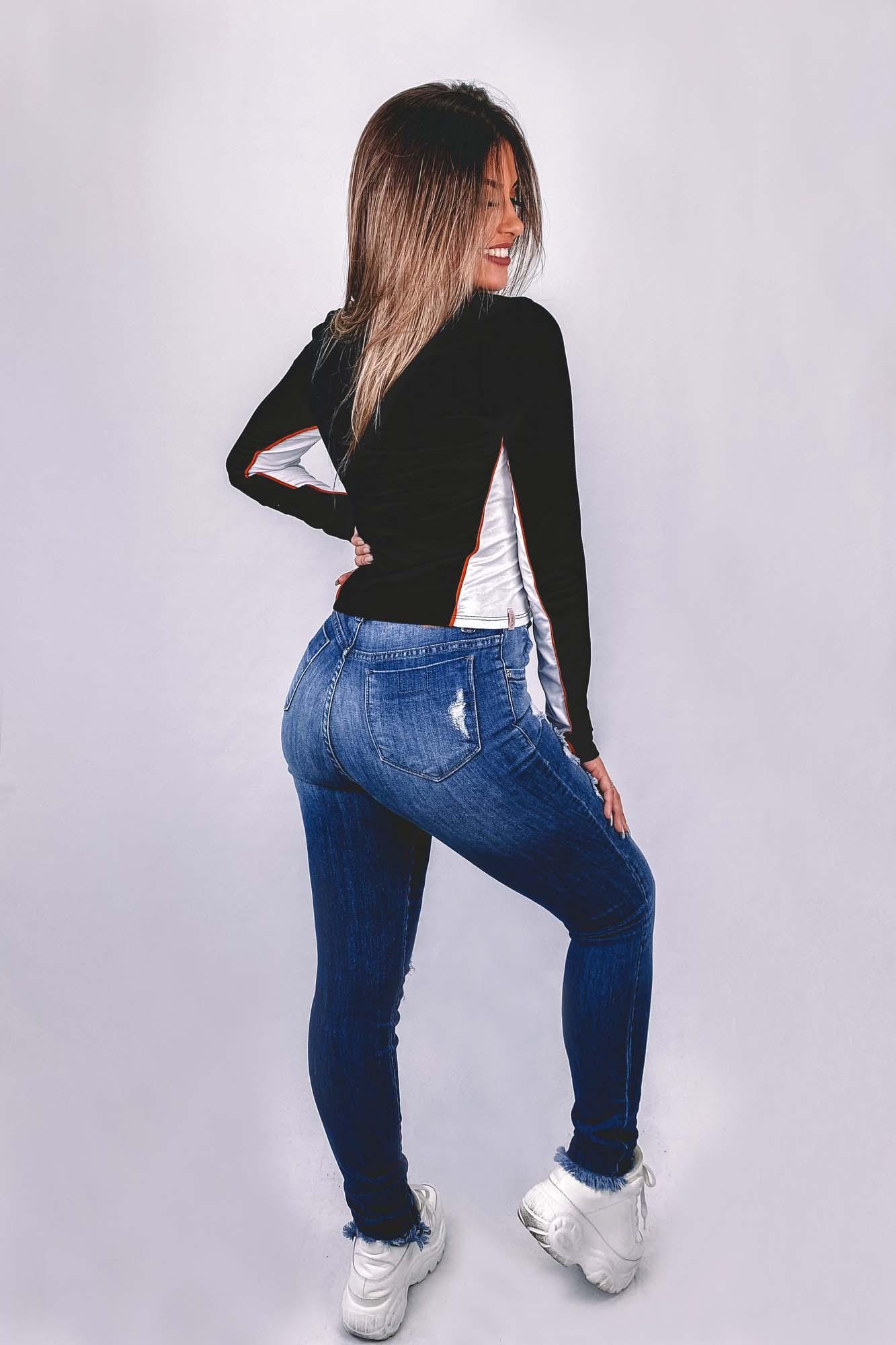 Blusinha Maíra Preta