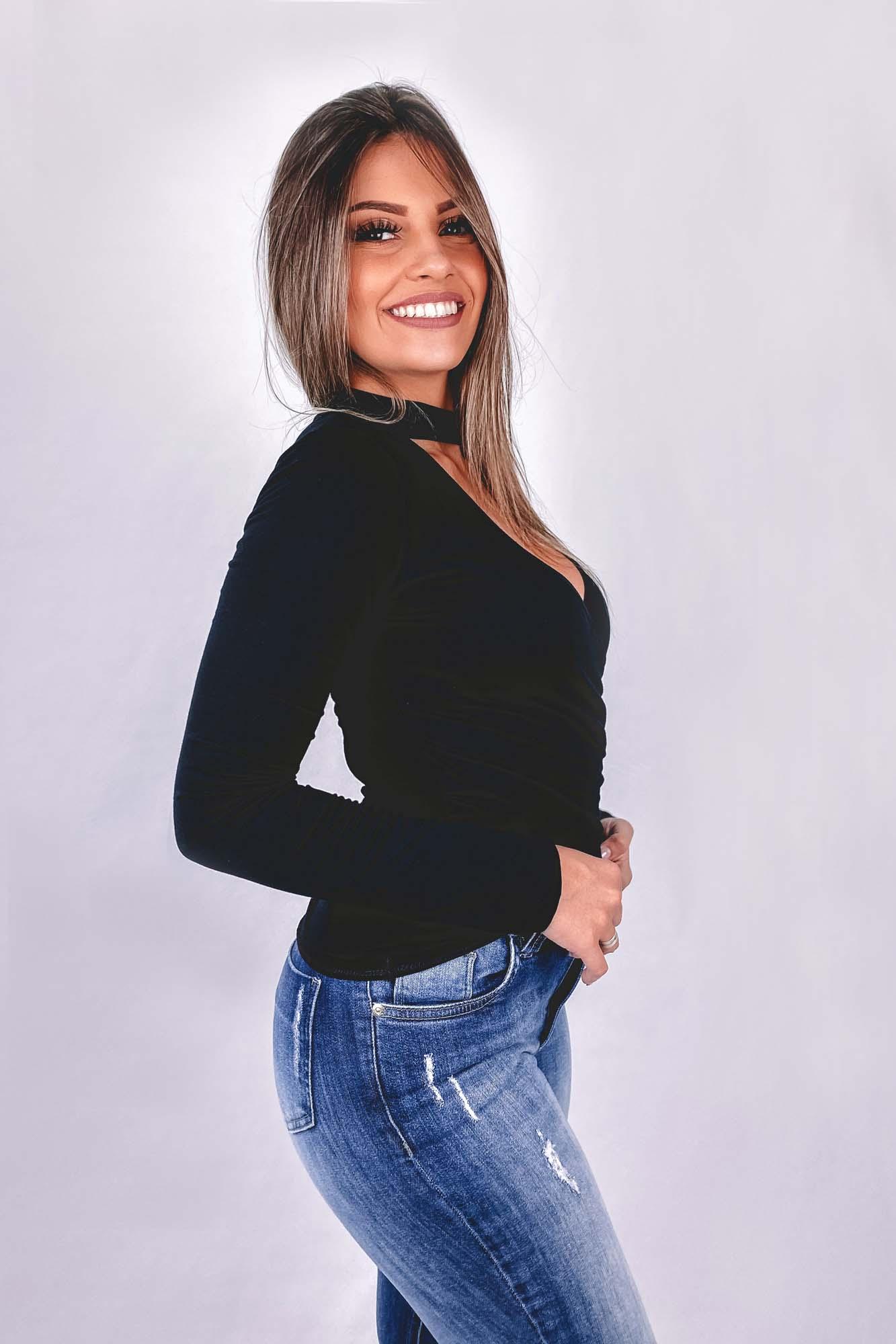 Blusinha Renata Preta