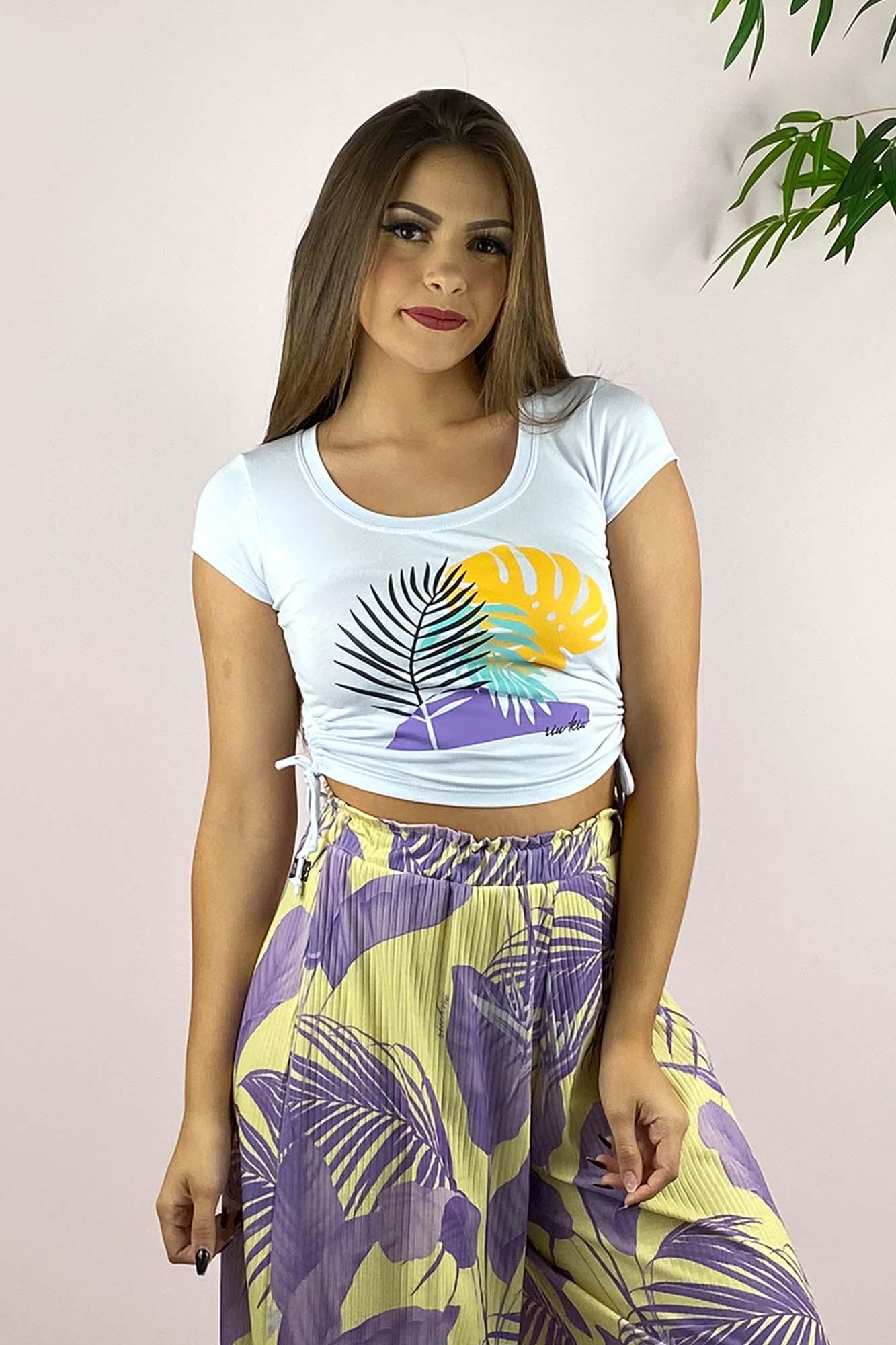 Blusinha Tropical