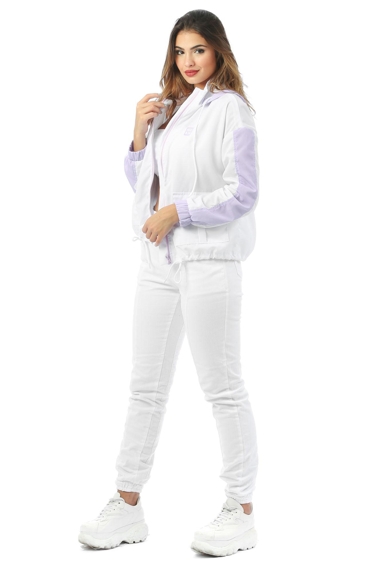 Jaqueta Corta Vento Jessie Branco