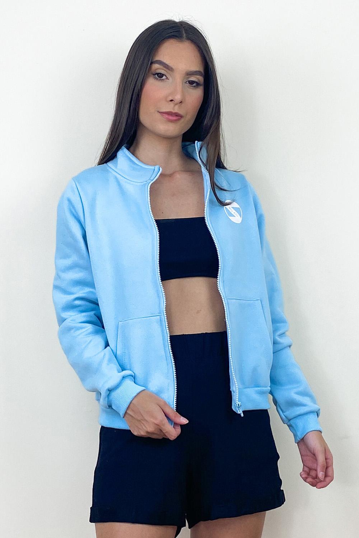 Jaqueta de Moletom Nick Azul