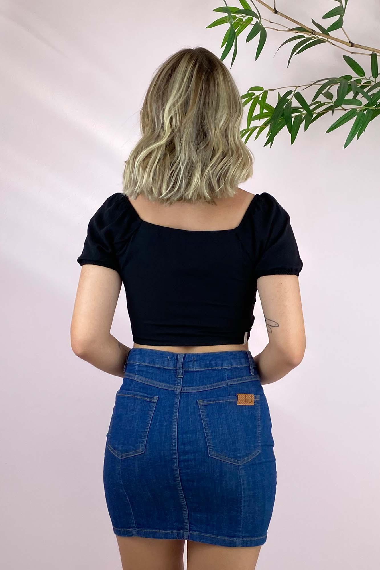 Saia Jeans Maggie