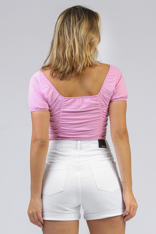 Shorts de Sarja Lêni Branco