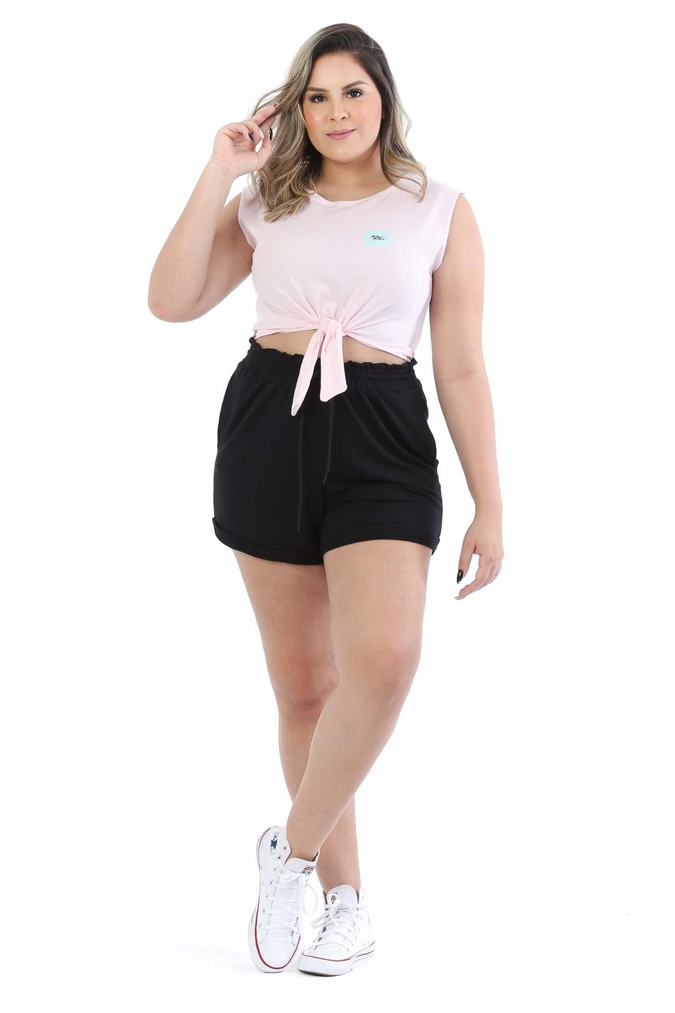 Shorts Ivy Preto