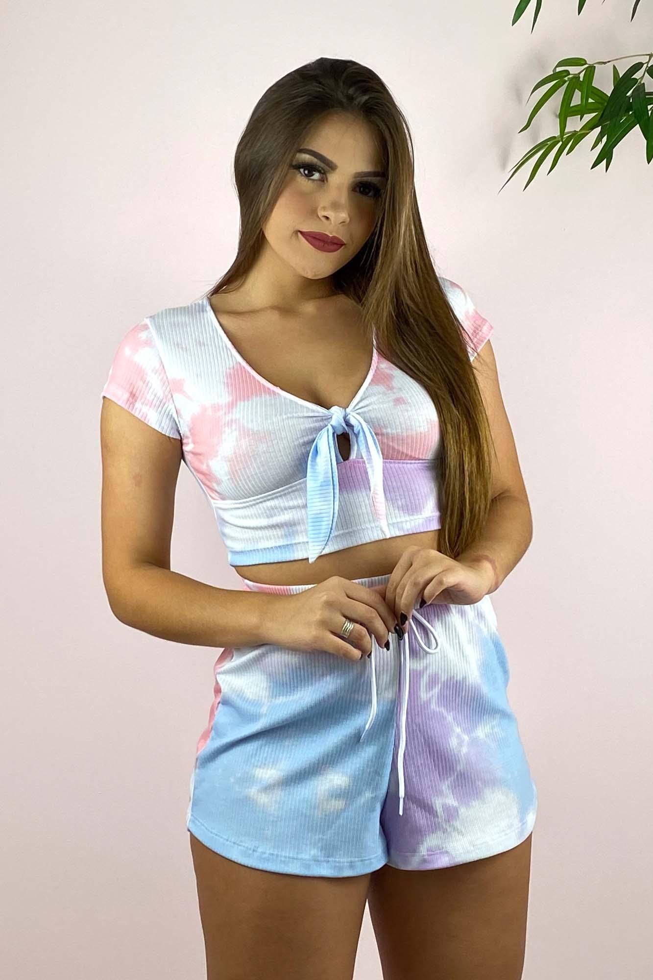 Shorts Tie Dye Paula