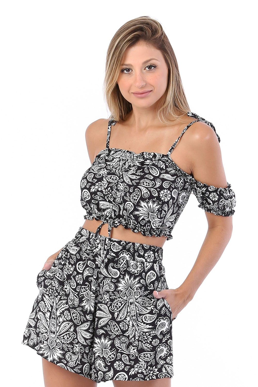 Shorts Summer Preto