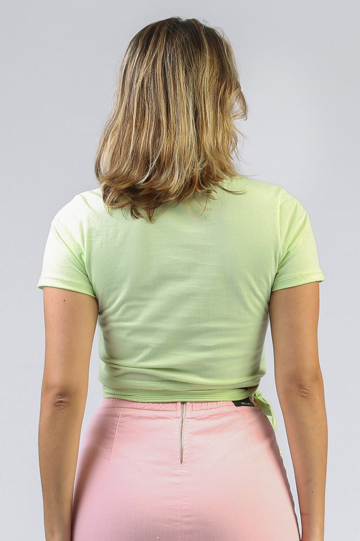 T-shirt Amarração Lemon