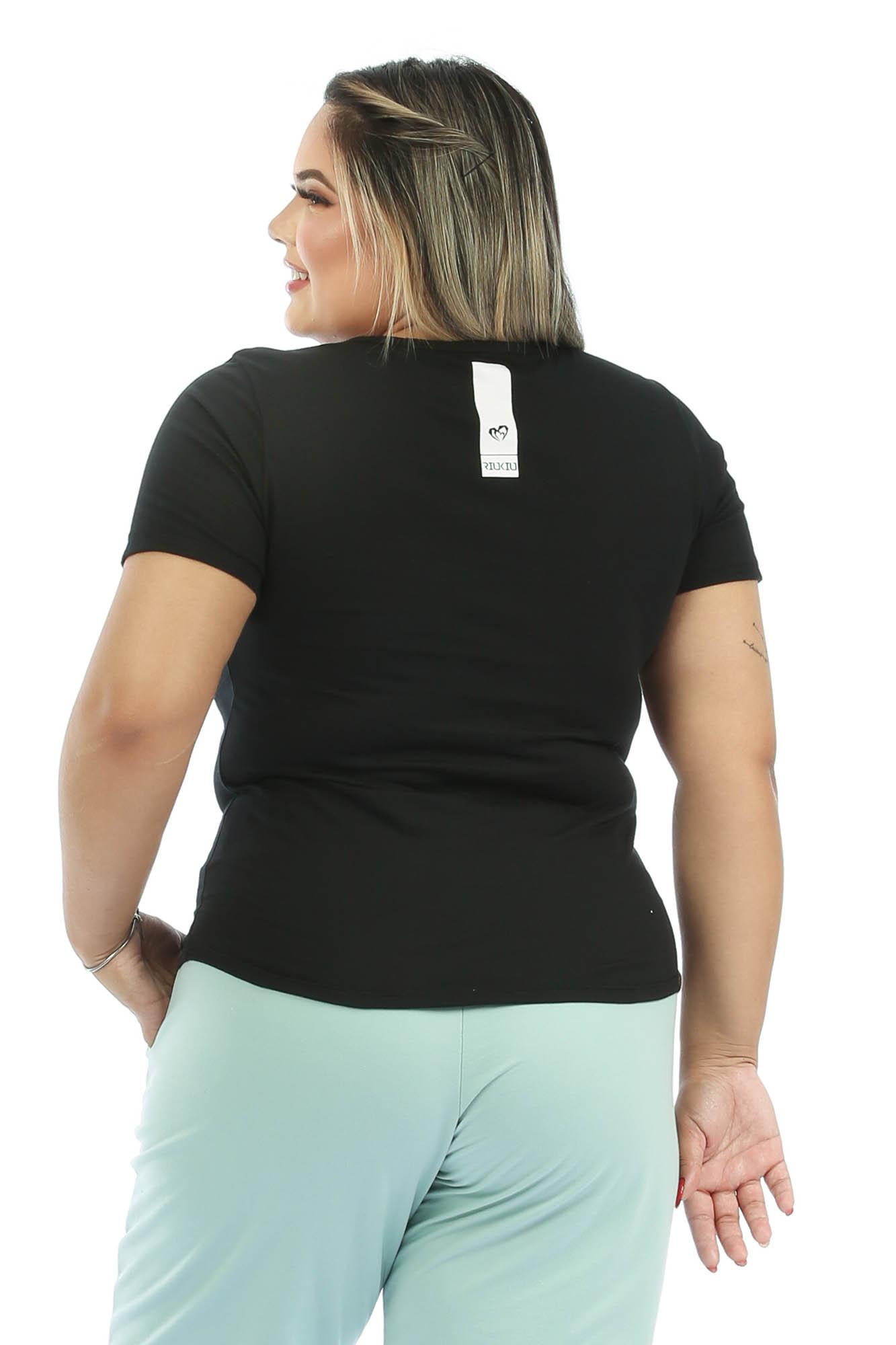 T-shirt Basic Preto