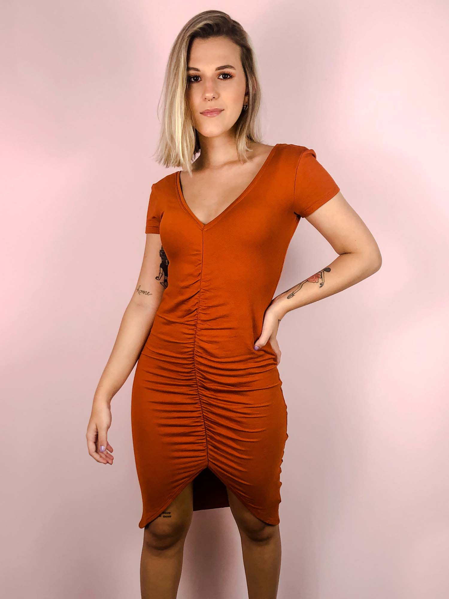 Vestido Adele Telha
