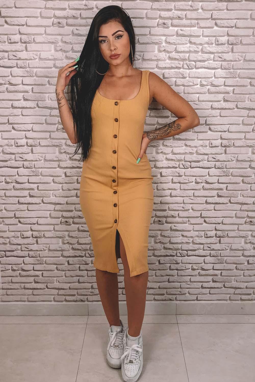 Vestido Brisbane Amarelo