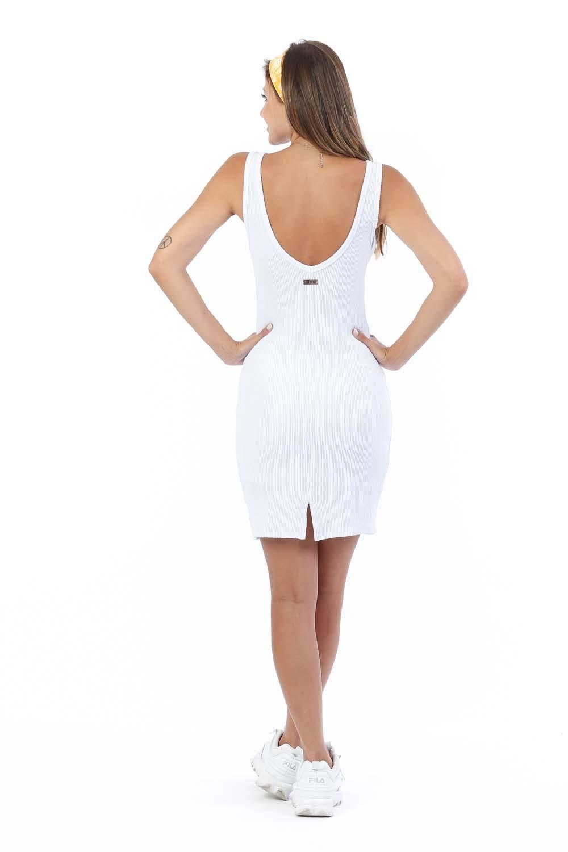 Vestido Deb Branco