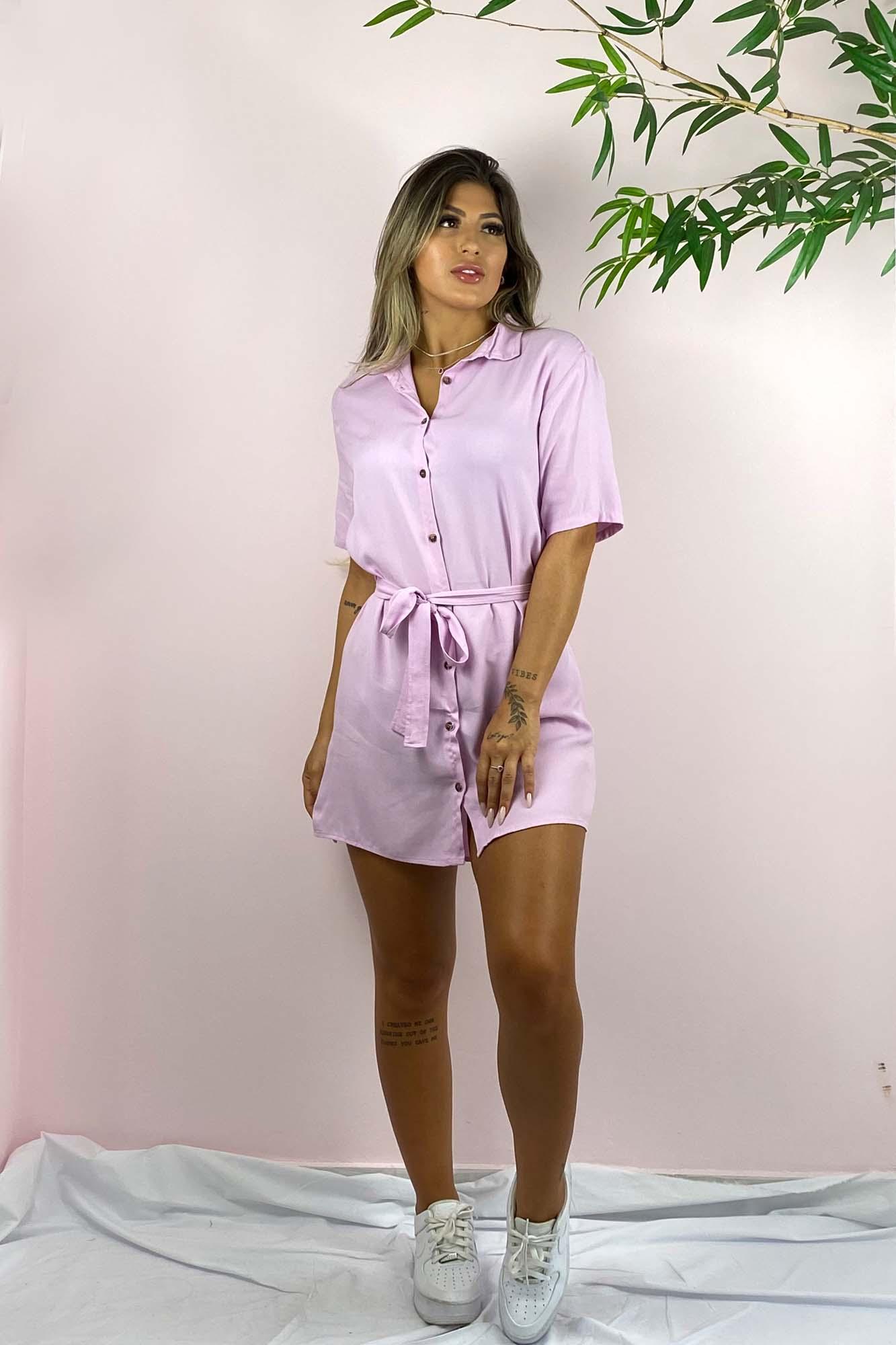 Vestido Chemise Maisa