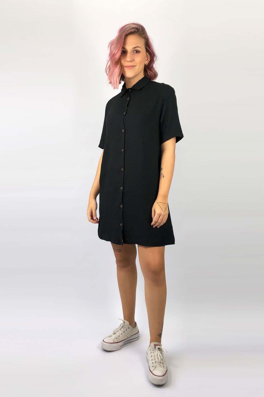 Vestido Chemise Maisa Preto