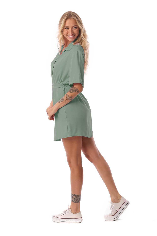 Vestido Maisa Verde Militar
