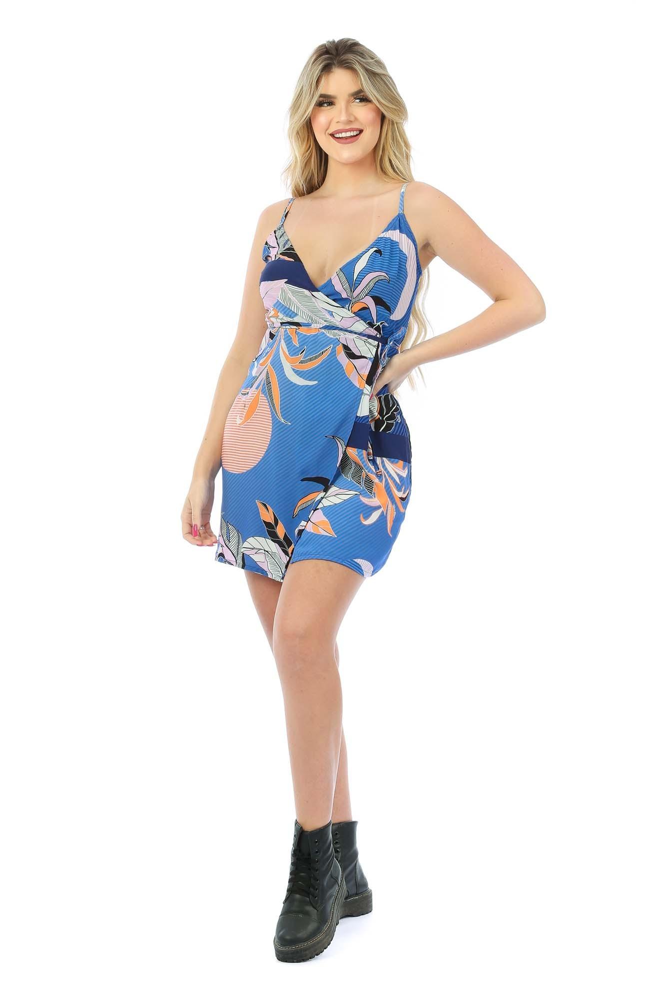 Vestido Transpassado Marina