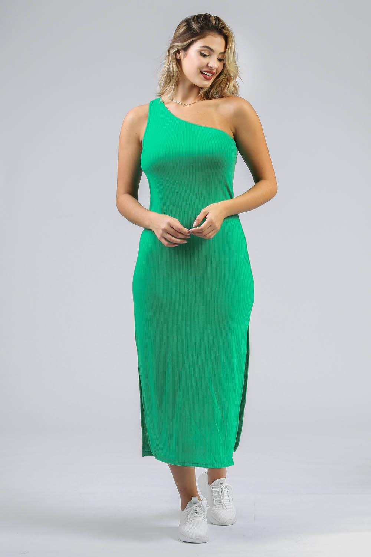 Vestido Midi Giane Verde