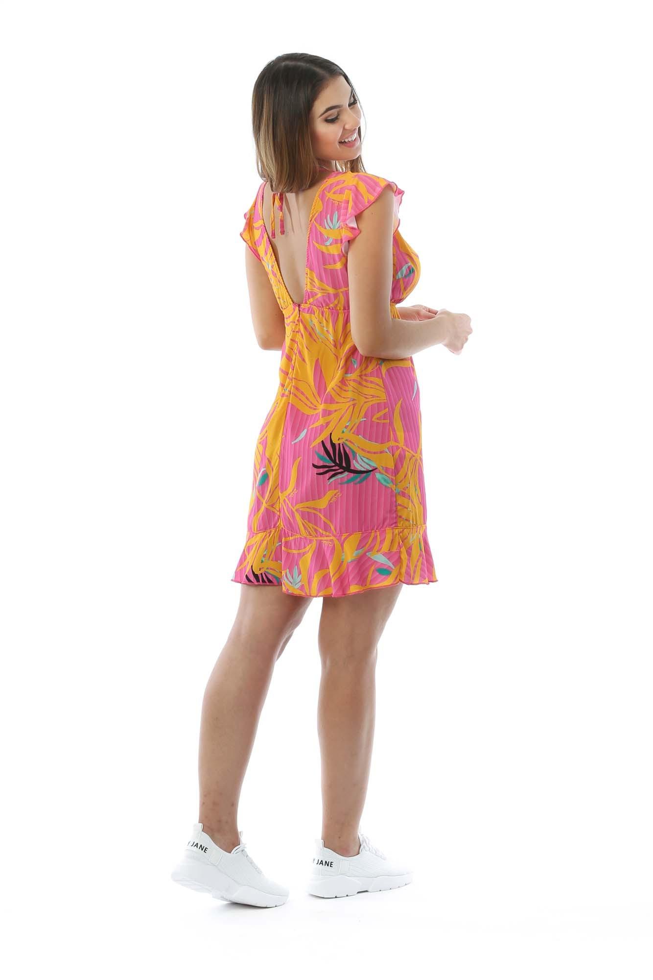 Vestido Serena Rosa