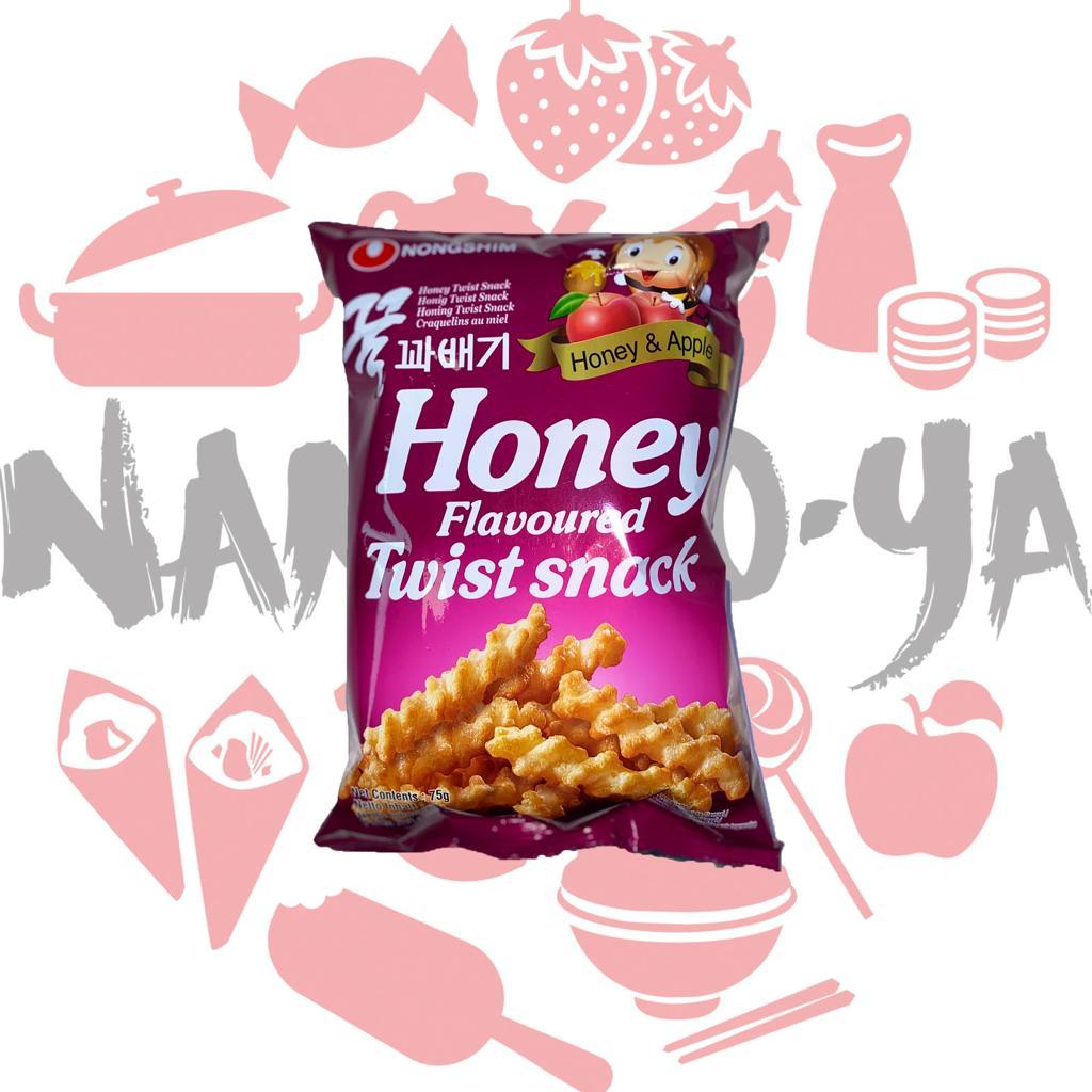 Nongshim Honey Flavoured Twist Snack