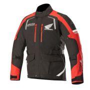 Jaqueta Alpinestars Andes V2 Honda Preto/Vermelho