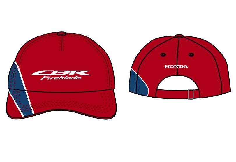 Boné Honda CBR Fireblade  Azul/Vermelho  - Convem Honda