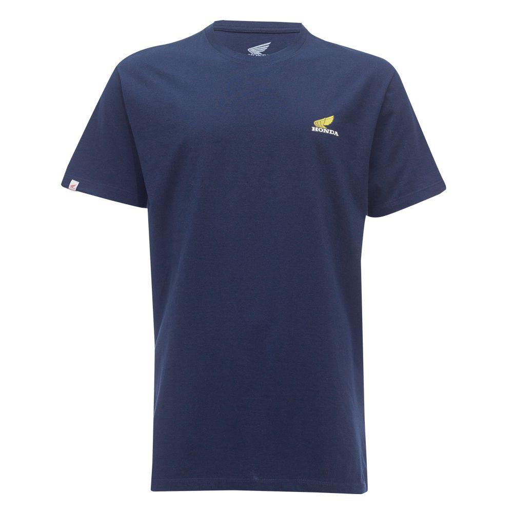 Camiseta Masculina Honda CB750 Four Azul - Coleção Vintage  - Convem Honda