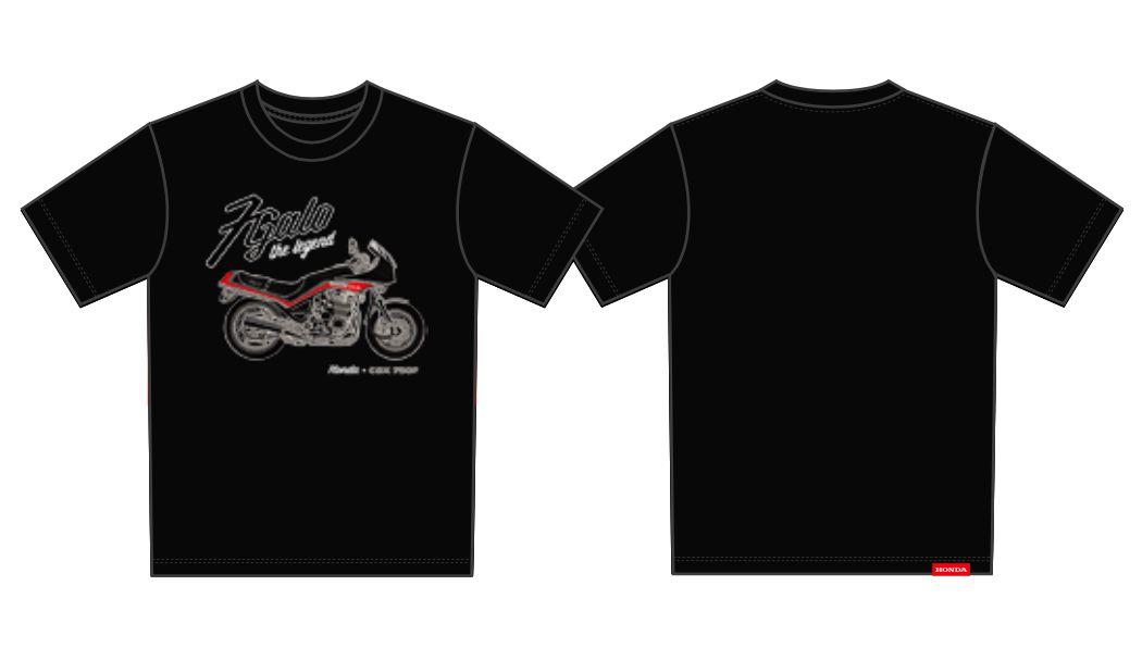 Camiseta Infantil Honda 7Galo Preta - Coleção Vintage  - Convem Honda