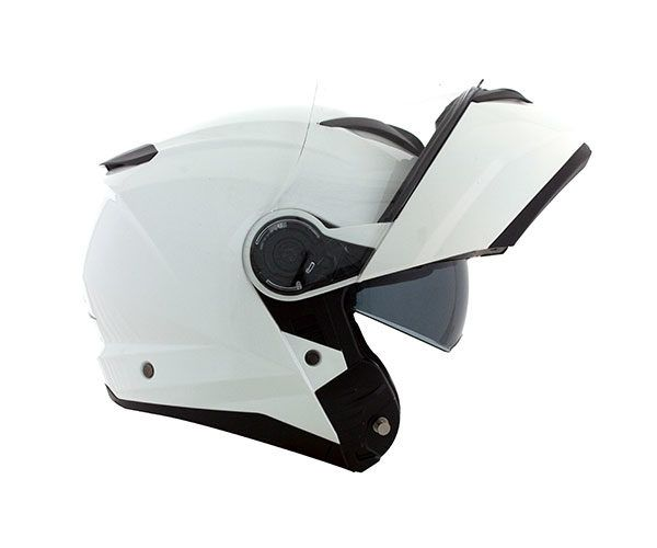 Capacete Articulado Norisk Force Monocolor Branco  - Convem Honda