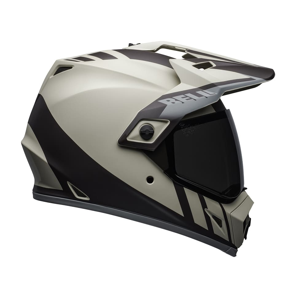 Capacete Bell MX9 Adventure MIPS DASH Marrom/Cinza  - Convem Honda
