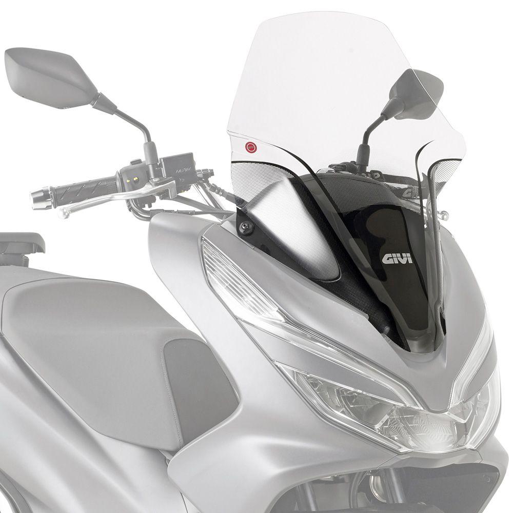 Parabrisa GIVI para PCX150 2019+ 1129DT Cristal com kit de instalação D1163KIT  - Convem Honda