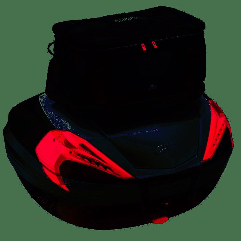 Rack Grelha Em Nylon Universal GIVI S150  - Convem Honda