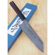 Faca Bunka  Miura Ginryu Damascus  Aogami 2 - 16.5cm  Japao