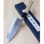 Faca Deba para Destro Miura Shirogami Nº2 -16,5mm Japao