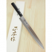 Faca Yanagiba para Sashimi Masahiro Inox Wabocho - 27cm  Japao