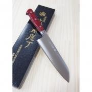 Faca Santoku  Takamura Aço Inox R2 - 17cm Japao