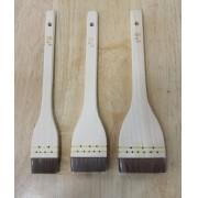 Pincel para Sushi (Hake)  Miura - kit com 3 und. 36-45-60mm Japao