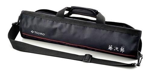 Bolsa para Facas - Tojiro  8 Compartimentos