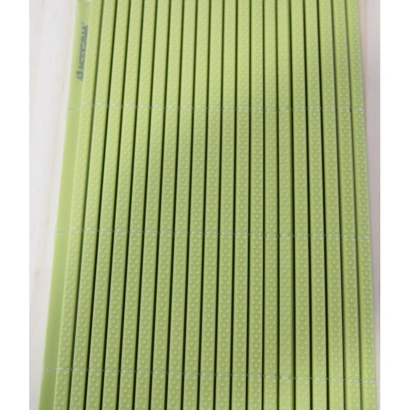 Esteira plastica sudare para sushi  HASEGAWA verde - Tam: G