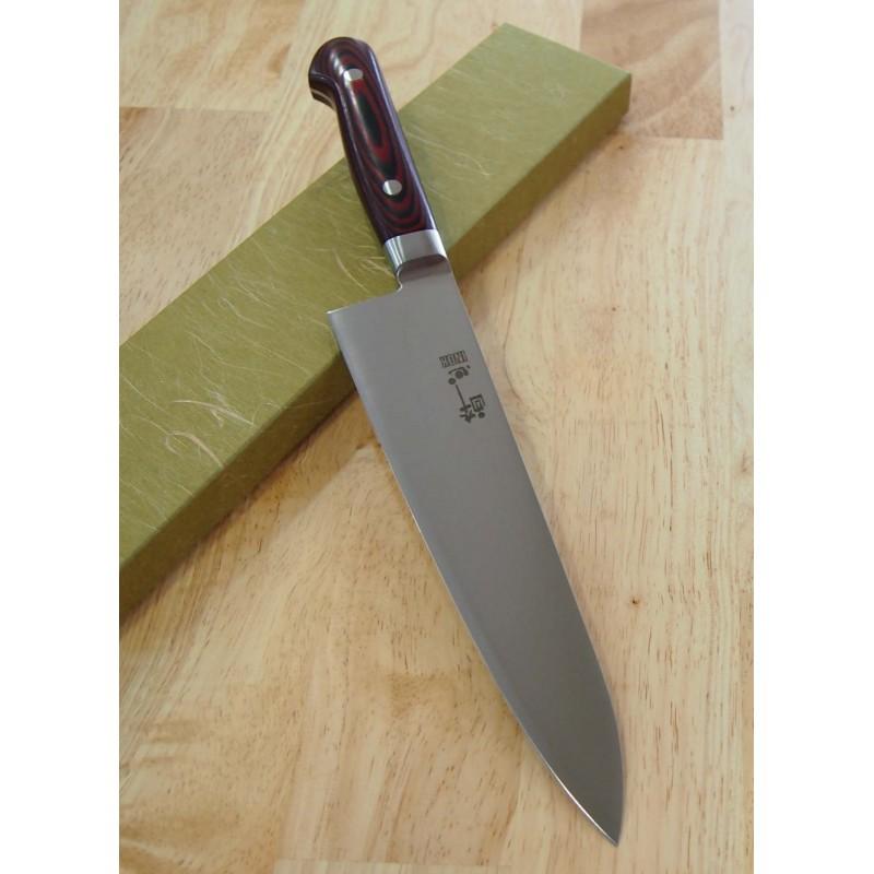 Faca do chef gyuto SUISIN Aço sueco Tam:21cm Japao