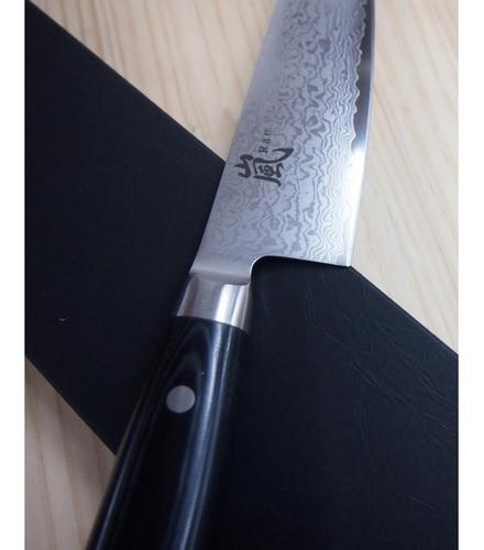 Faca Do Chef YAXELL - 69 Camadas - Série: Ran - Lâm: 20cm  Fabricado no Japão