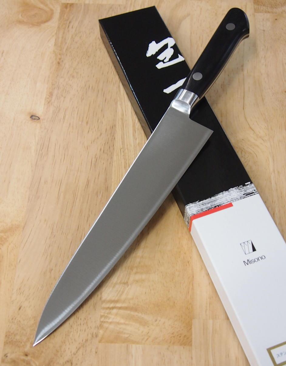 Faca do Chefe Gyuto Misono Série Molibdenio - 21cm Japão