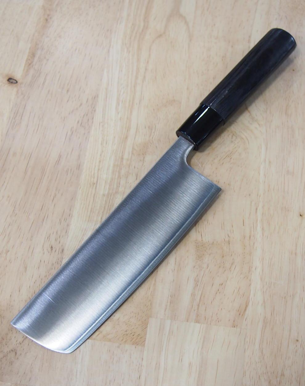 Faca nakiri TOJIRO Zen black VG-10 Fd-1568 Tam 16,5cm Japão