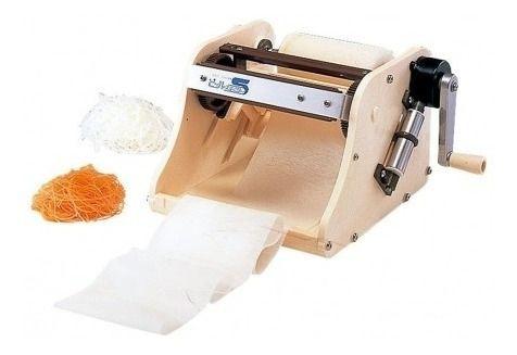 Maquina para fazer katsuramuki fatiar e cortar legumes Chiba Kogyo made in Japan