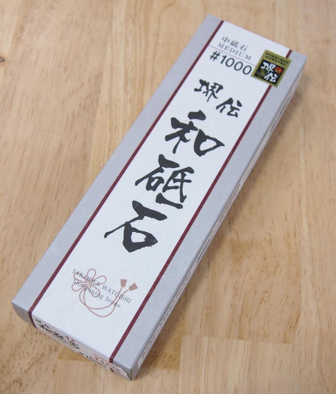 Pedra Afiar Amolar Naniwa Sakaiden 1000 WSD-03 Media