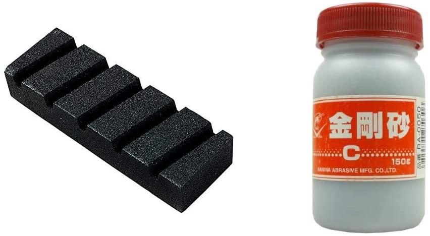 Pedra Niveladora e Pó de Ferro Naniwa - Japão