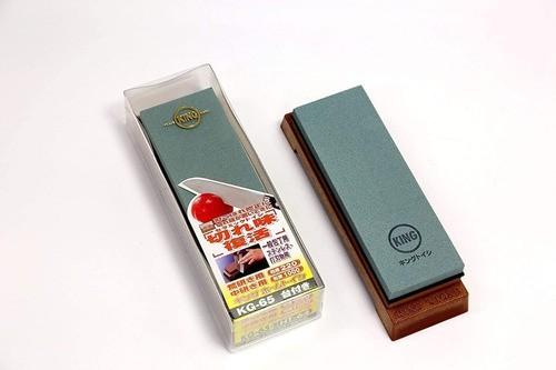 Pedra para Afiar e Amolar  Dupla Face King #220-1000 Kg-65 - Japão