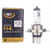 LÂMPADA HALOGENA UNIVERSAL H4 12V 60/55W - WDC0894