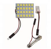 LÂMPADA LED TORPEDO 24 LEDS 5050 - WDC0868